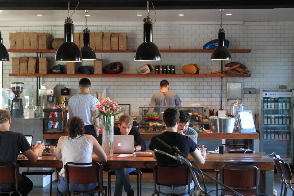 cafe inrichting offerte