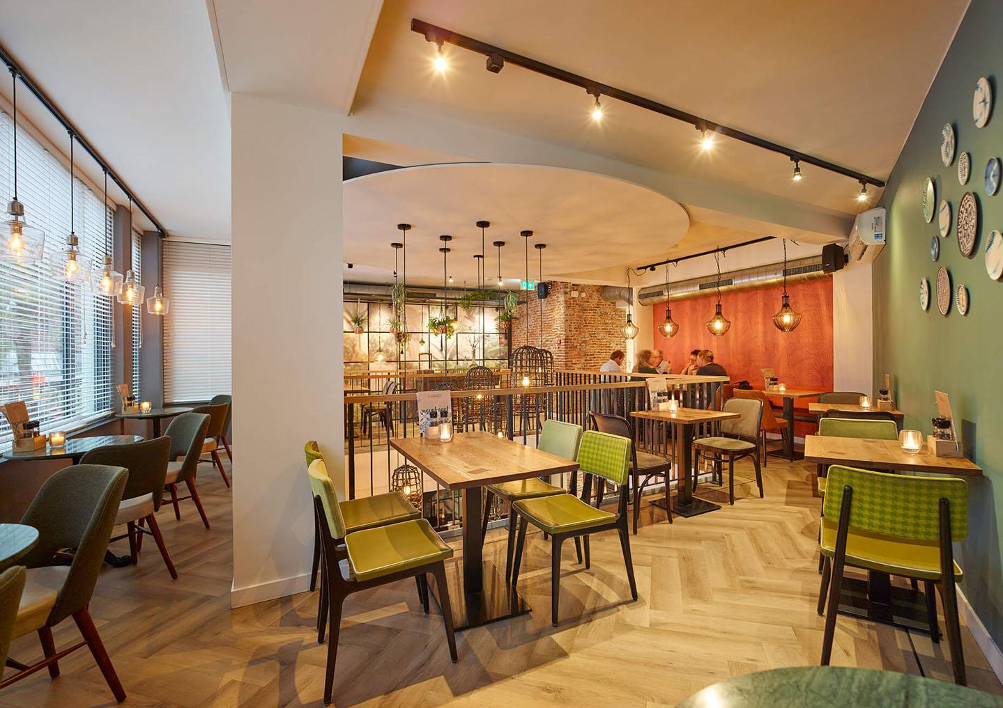 lichtplan eetcafe