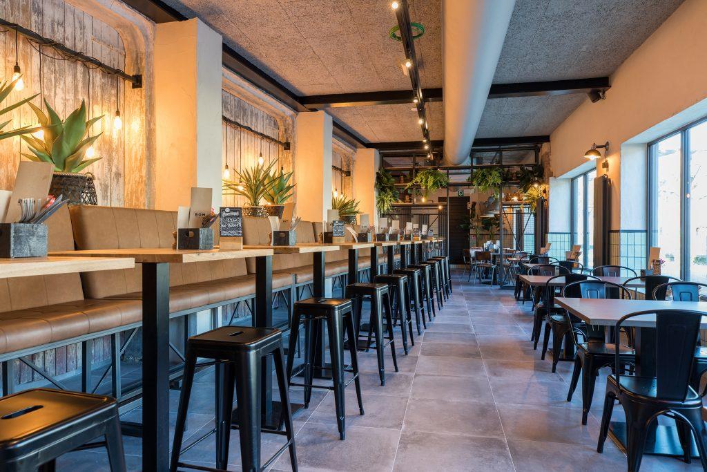 restaurant inrichting industrieel midden prijssegment