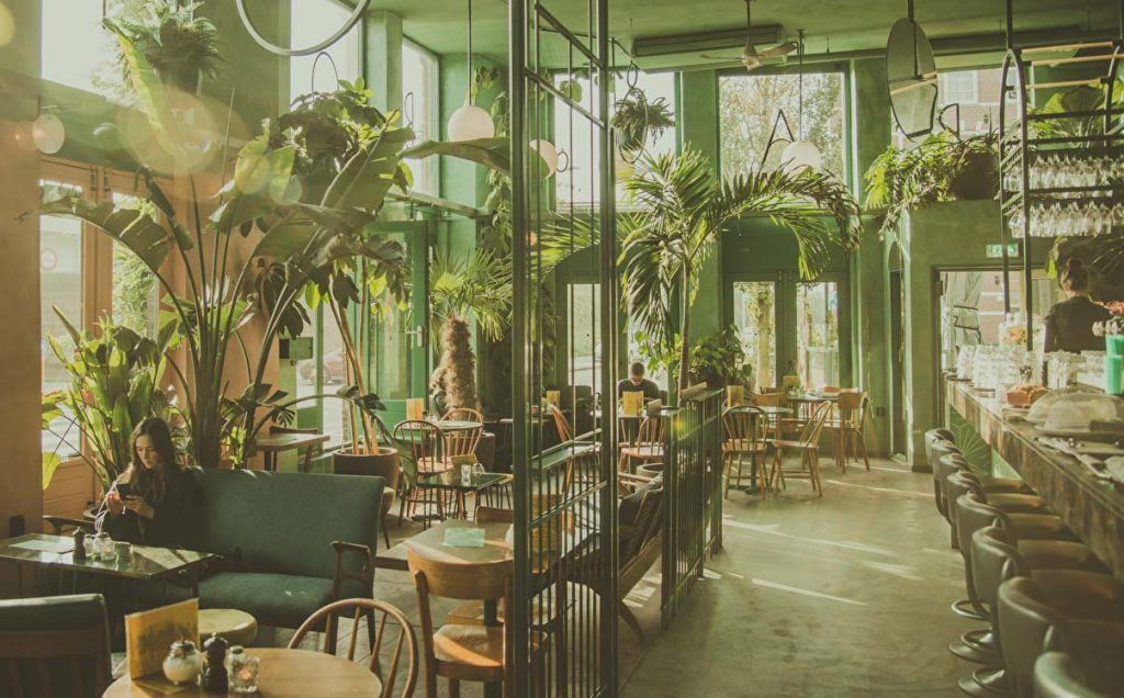 urban jungle horeca inrichting trend bar botanique
